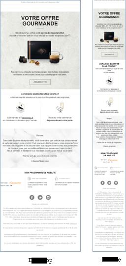 Modèle d'email Client Secteur Agroalimentaire